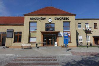 Przebudowa centrum przesiadkowego w Grodkowie