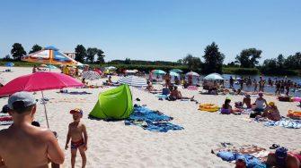 Zagospodarowanie przestrzeni wokół kąpieliska Przystań wodna w Nowych Siołkowicach