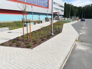Poprawa jakości środowiska miejskiego w Kędzierzynie-Koźlu poprzez rozwój terenów zielonych. Etap I: Utworzenie skweru przy al. Jana Pawła II 32