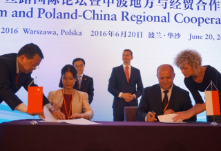 Deklaracja o współpracy z Hongbo podpisana
