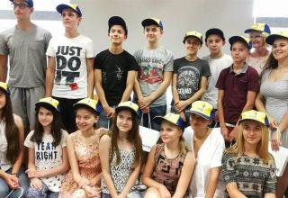 Młodzież z Ukrainy zwiedza Opolszczyznę