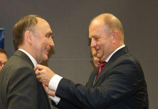 Niemieccy politycy z opolską Odznaką