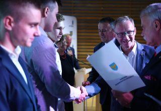 Marszałek nagradza najlepszych sportowców