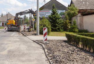 Trwa przebudowa drogi 416