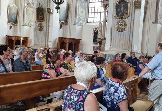 Najazd seniorów czeskich na Zamek Piastów Śląskich w Brzegu