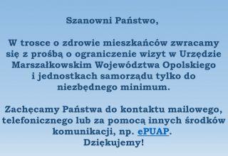 Funkcjonowanie UMWO i jednostek samorządu województwa [aktualizacja]