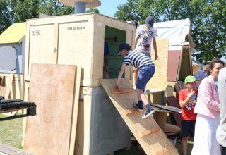 Dzieci budują swoje miasto